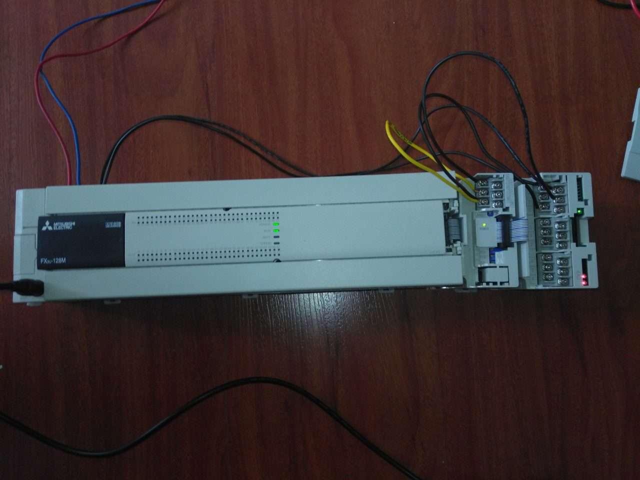 Hướng dẫn kết nối mô đun analog PLC FX3U Mitsubishi